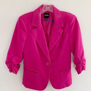XOXO - Hot Pink Blazer, Size S